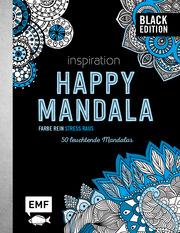 Black Edition: Inspiration Happy Mandala