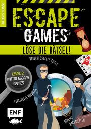 Escape Games - Löse die Rätsel! - Level 2 mit 10 Escape Games ab 10 Jahren