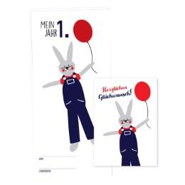 Babykalender 'Mein erstes Jahr' für Jungen