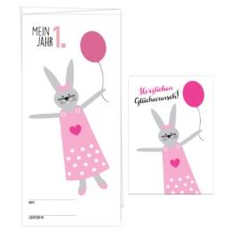 Babykalender 'Mein erstes Jahr' für Mädchen