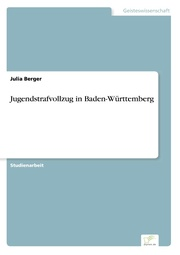 Jugendstrafvollzug in Baden-Württemberg