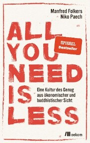 All you need is less - Cover