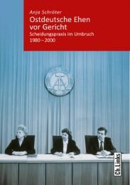 Ostdeutsche Ehen vor Gericht