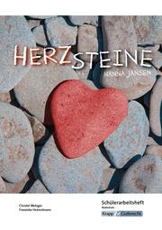 Herzsteine von Hanna Jansen - Schülerarbeitsheft Klasse 10