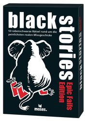black stories - Epic Fails Edition - Cover