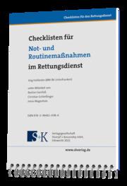 Checklisten für Not- und Routinemaßnahmen im Rettungsdienst