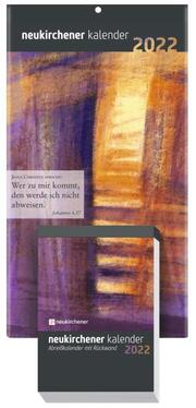 Neukirchener Kalender 2022 - Abreißkalender mit Rückwand