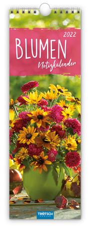 Blumen Notizkalender 2022
