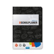 Trötsch Schulplaner Schwarz 2021/2022
