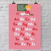Miss Happy Girl Arprint 'ABC'