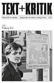 TEXT + KRITIK 232 - Wolfgang Welt