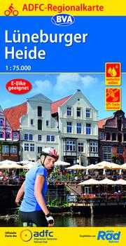 ADFC-Regionalkarte Lüneburger Heide, 1:75.000, reiß- und wetterfest, GPS-Tracks Download