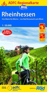 ADFC-Regionalkarte Rheinhessen, 1:50.000, reiß- und wetterfest, GPS-Tracks Download