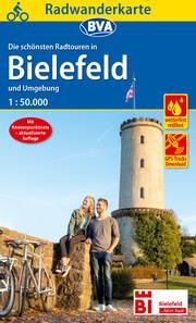 Radwanderkarte BVA Radwandern in Bielefeld und Umgebung 1:50.000, reiß- und wetterfest, GPS-Tracks Download