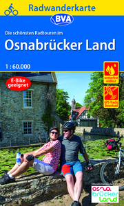 Radwanderkarte BVA Radwandern im Osnabrücker Land 1:60.000, reiß- und wetterfest, GPS-Tracks Download