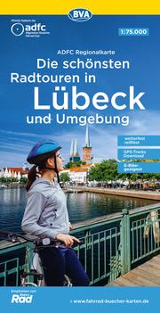 ADFC-Regionalkarte Die schönsten Radtouren in Lübeck und Umgebung