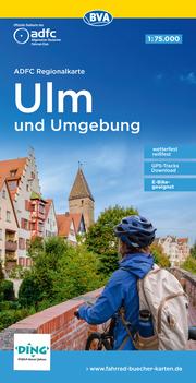 ADFC-Regionalkarte Ulm und Umgebung, 1:75.000