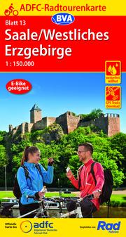 ADFC-Radtourenkarte 13 Saale/Westliches Erzgebirge 1:150.000, reiß- und wetterfest, GPS-Tracks Download
