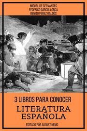 3 Libros para Conocer Literatura Española