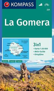 KOMPASS Wanderkarte La Gomera