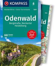 KOMPASS Wanderführer Odenwald, Bergstraße, Neckartal, Heidelberg