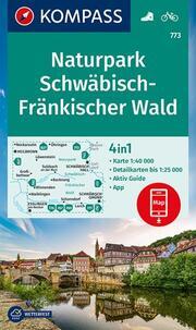KOMPASS Wanderkarte Naturpark Schwäbisch-Fränkischer Wald