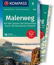 KOMPASS Wanderführer Malerweg - Auf den Spuren der Romantiker durch die Sächsische Schweiz