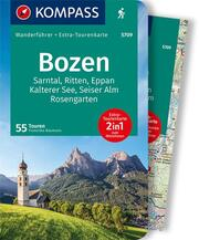 KOMPASS Wanderführer Bozen, Sarntal, Ritten, Eppan, Kalterer See, Seiser Alm, Rosengarten