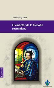 El carácter de la filosofía rosminiana