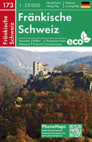 Fränkische Schweiz, Wander-Radkarte 1:25 000