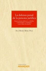 La defensa penal de la persona jurídica
