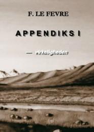 Appendiks 1 - Virkeligheden