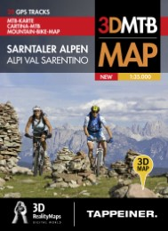 Mountainbike-Karte Sarntal