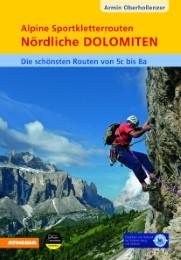 Alpine Sportkletterrouten - Nördliche Dolomiten