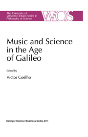 Music and Science in the Age of Galileo