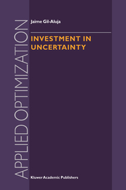 Investment in Uncertainty