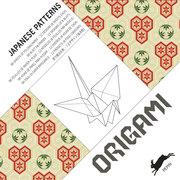 Origami-Papier: Japanese Patterns