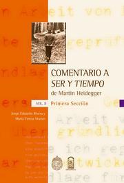 Comentario a 'Ser y tiempo' de Martin Heidegger - Vol. II, Primera sección