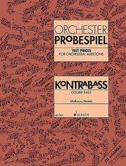 Orchester-Probespiel Kontrabass