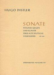 Sonate für zwei Geigen und Klavier op. 15a