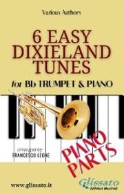 6 Easy Dixieland Tunes - Trumpet & Piano (Piano parts)