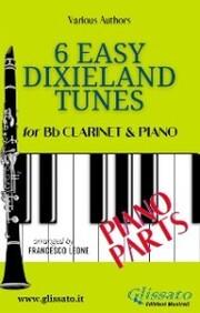 6 Easy Dixieland Tunes - Bb Clarinet & Piano (Piano parts)