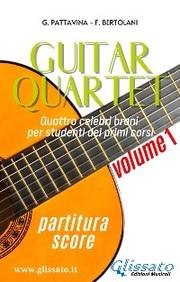 Guitar Quartet vol.1 - partitura