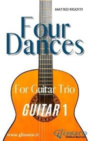 Four Dances - Guitar 1