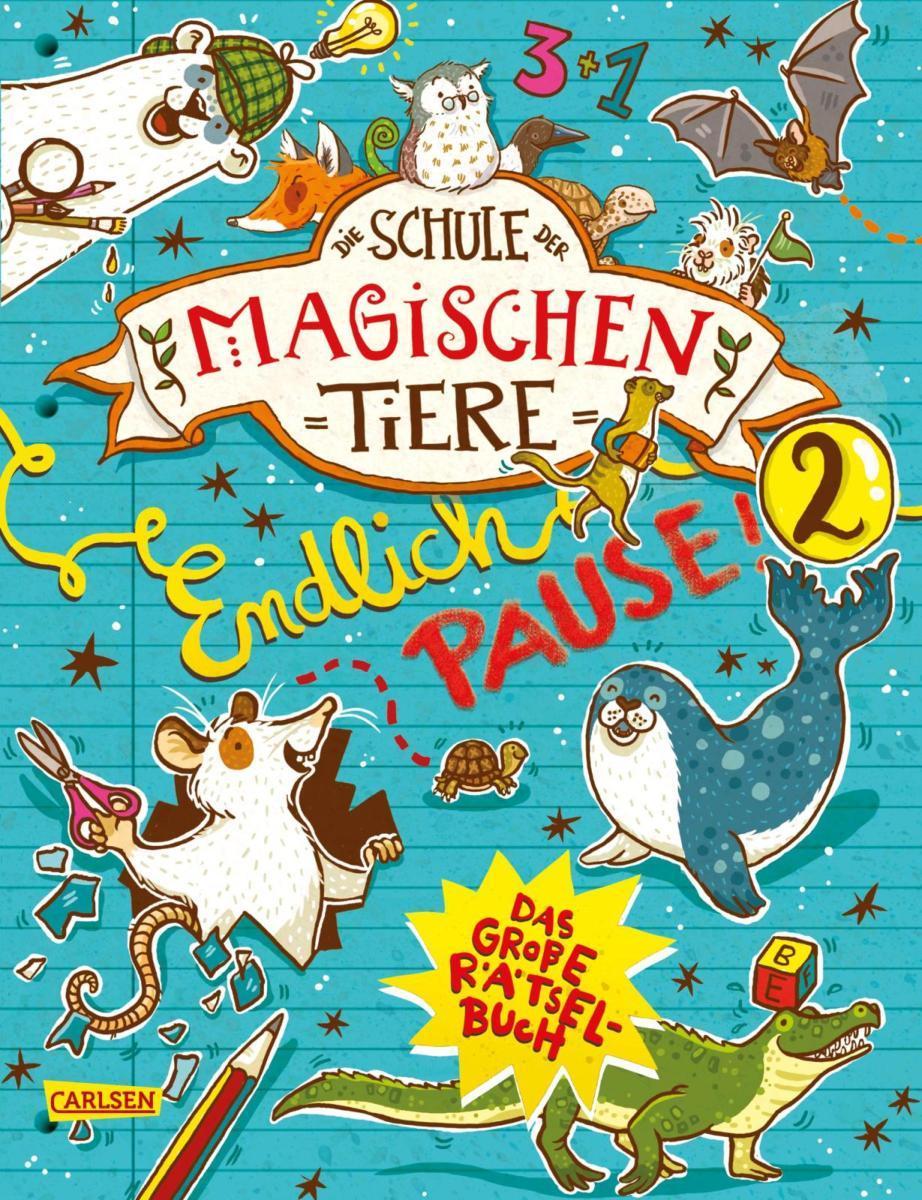 Die Schule der magischen Tiere Endlich Pause Das große ...